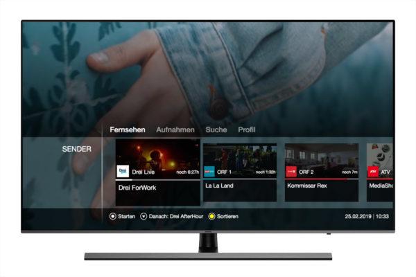 Bitsfabrik Smart TV Drei TV live