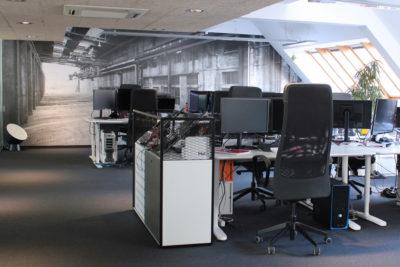 Bitsfabrik Entwicklerraum